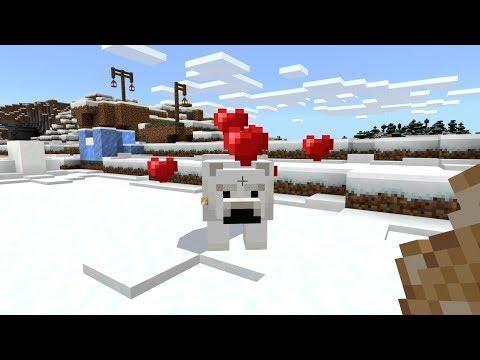 Minecraft: How To Tame A Polar Bear - (Minecraft Tame Polar Bear)