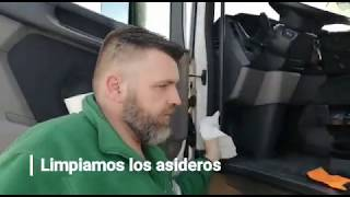 Como desinfectar un camión para prevenir ante el coronavirus COVID-19. Acotral