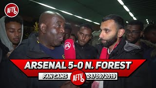 Arsenal 5-0 Nottingham Forest | I'm So Excited About Tierney But Let's Give Him Time!! (Moh)