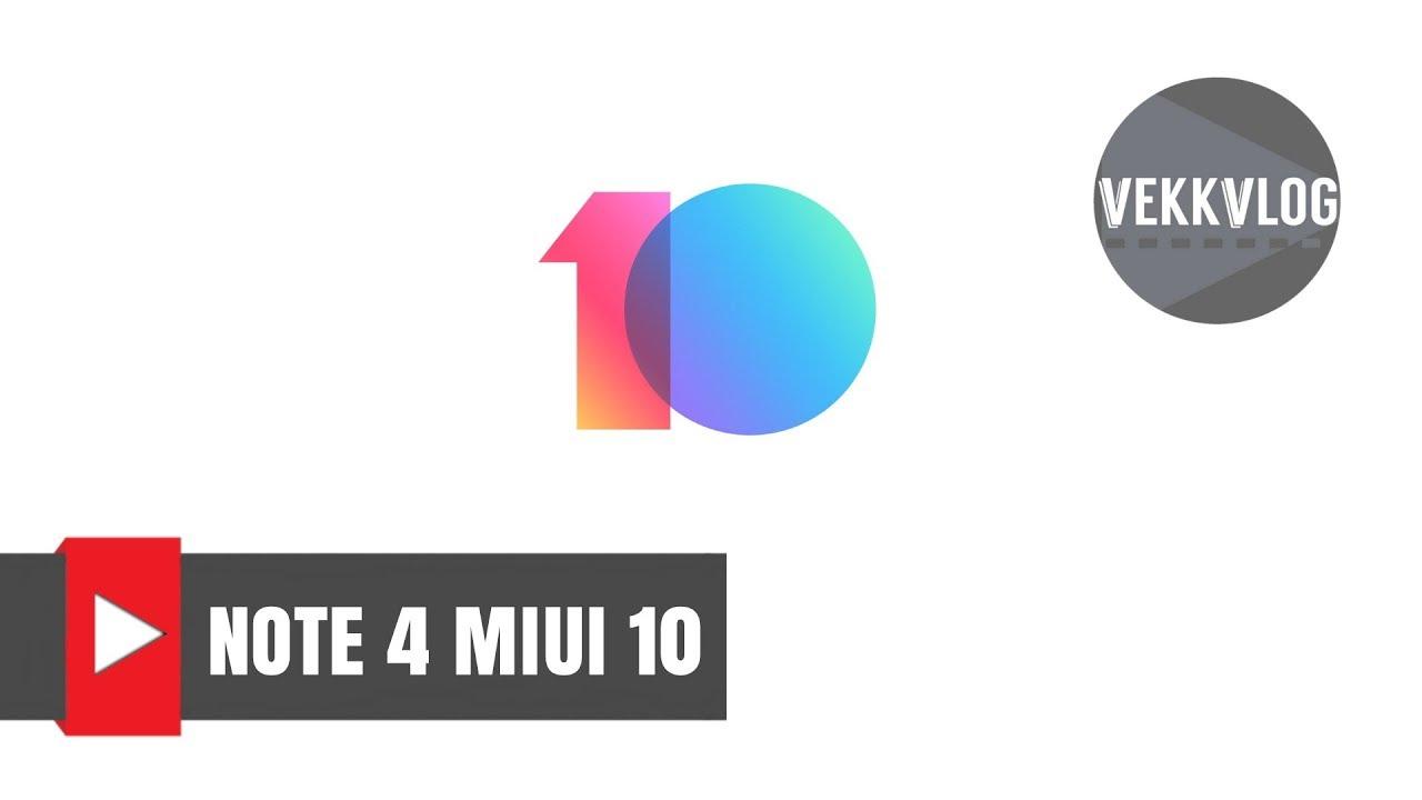 Miui 10 su Xiaomi RedMi Note 4 Global - Guida come installazione Miui 10  Camera Apk 2 0