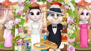 Моя Анджела Две сестрички Соня и Кот Том #27 Свадьба Анджелы и Тома Анжела Мила Соня Мультик