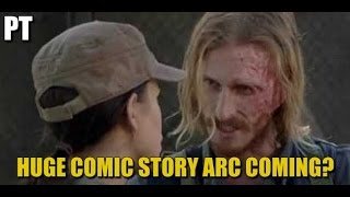 The Walking Dead Season 7 Episode 15 Discussion Dwight Comic Story Arc Coming?