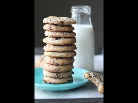 Soft & Chewy Mint Chocolate Cookies