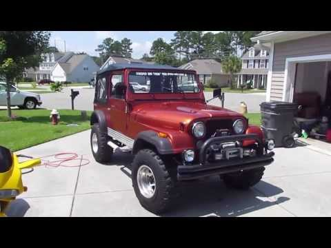 1985 Jeep CJ7 4.2 Liter