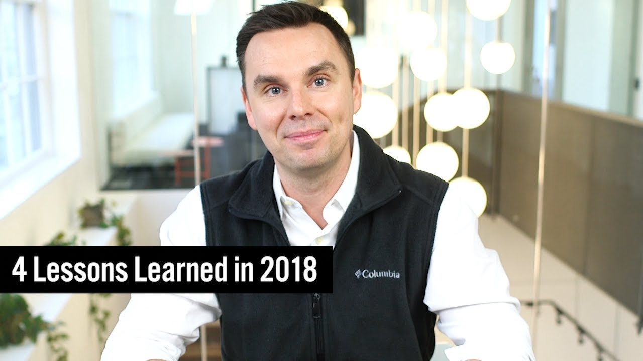 4 Lessons Learned in 2018