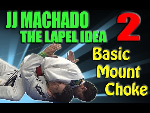 Jean Jacques Machado | The Lapel Idea 2 | The Basic Mount Choke