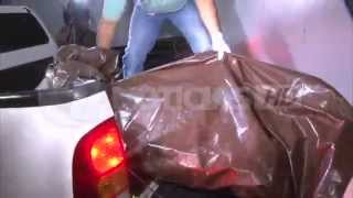 Llegan cadáveres de Miss Honduras Mundo y su hermana a morgue de Tegucigalpa.