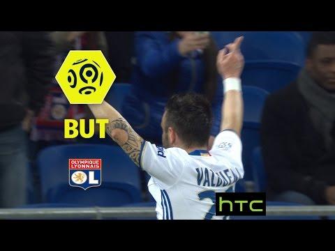 But Mathieu VALBUENA (39') / Olympique Lyonnais - AS Nancy Lorraine (4-0) -  / 2016-17
