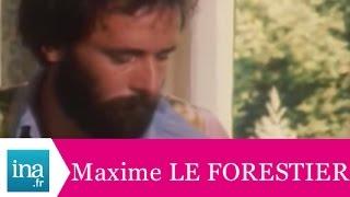 Le jardin secret de Maxime Le Forestier - archive vidéo INA