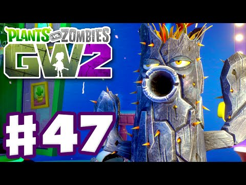 Plants vs. Zombies: Garden Warfare 2 - Gameplay Part 47 - Petrified Cactus! (PC)