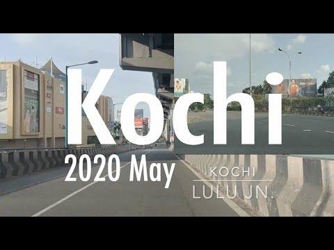 kochi Lockdown city tour Kerala 3rd May 2020 MG road Lulu kaloor jn vyttila edapally metro stations