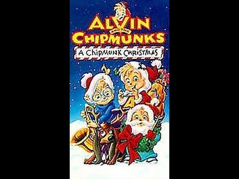 Opening To Alvin And The Chipmunks:A Chipmunk Christmas 1992 VHS