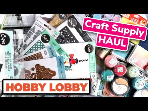 Hobby Lobby CRAFT Supple HAUL What I Bought for $330