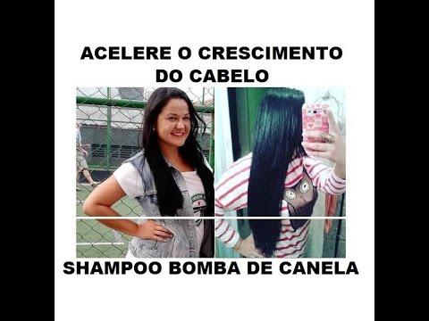 Shampoo Bomba de Canela - Acelere o crescimento do seu cabelo!
