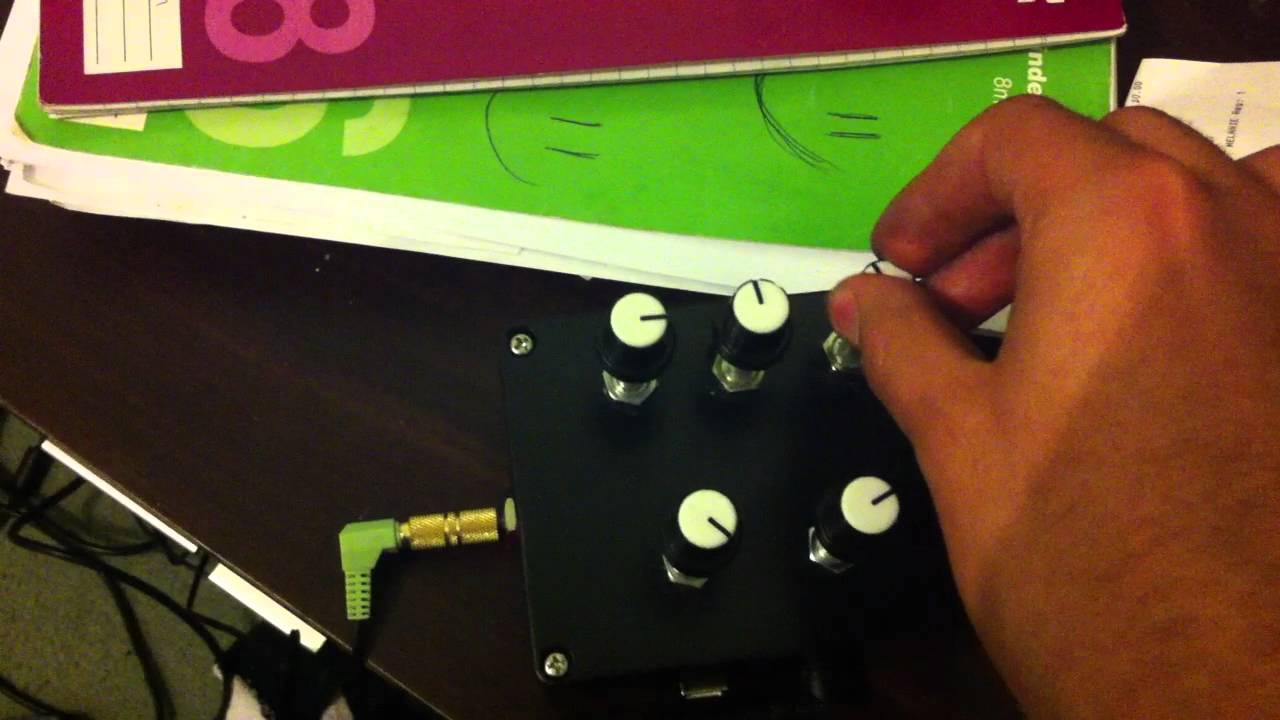 Playing with my Arduino Uno Granular Synth