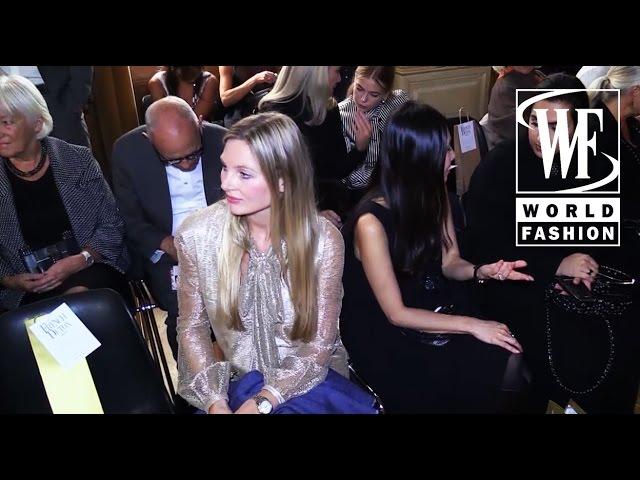 Front Row Yde Spring-Summer 2016 Paris Fashion Week