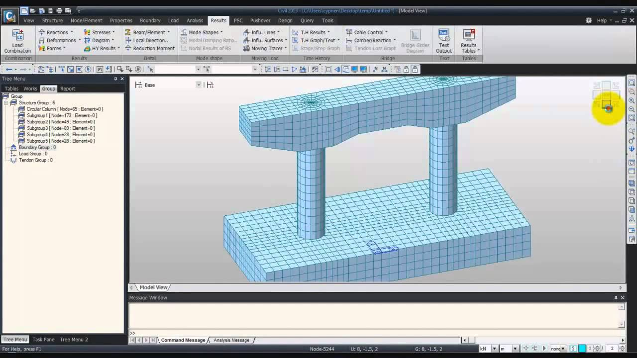 civil structural design tutorial pdf