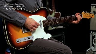 Fender Custom Shop NAMM Custom Built 1959 Relic Telecaster Electric Guitar