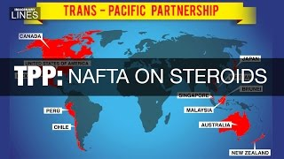 Imaginary Lines - TPP, a NAFTA on Steroids