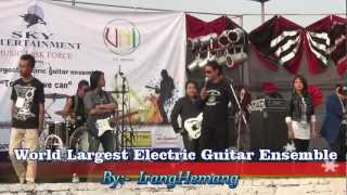 Guinness World Record Largest electric guitar ensemble