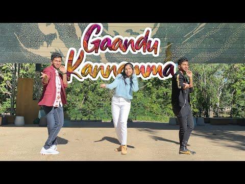 Gaandu Kannamma | Dance Cover | Vivek - Mervin | Australia | 4K