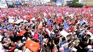 Final rallies held ahead of crucial Turkish elections