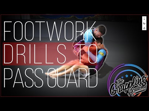 Some Awesome Footwork Drills - To Pass The Guard
