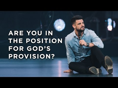 Are You in Position for God's Provision?