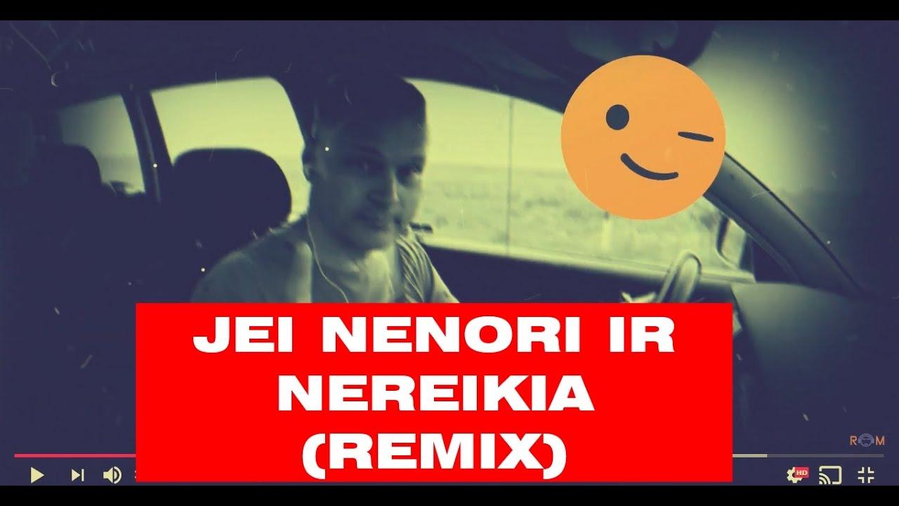 Jei nenori ir nereikia - Robertas Marcinkevičius - Lietuviška muzika (remix)