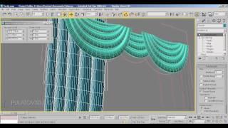 Интерьер моделинг 30-дарс. 3dsMax. Парда