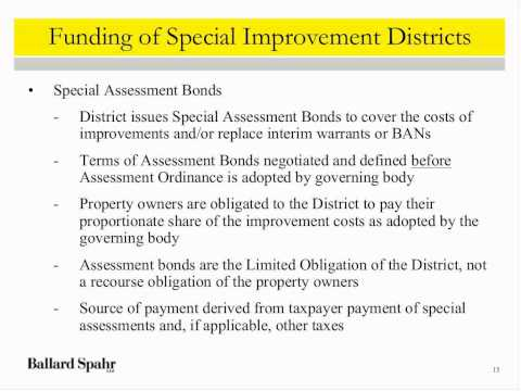 Webinar: How Towns, Cities, and Special Service Districts Ca