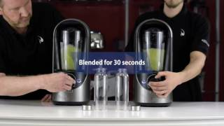 Vidia Vacuum Blender Test: Apples