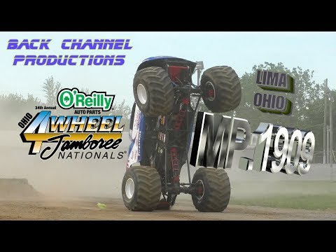 MONSTER POWER 2019 : E09 : Lima OH : Monster Trucks FREESTYLE 1