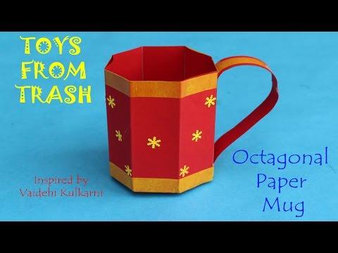 Paper Tea Cups #1 | Paper tea cups, Crafts, Paper crafts | 360x480
