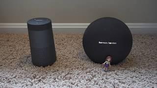 Bose Revolve vs Harman Kardon Onyx Mini