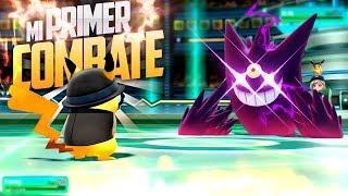 🔥¡MI PRIMER COMBATE!🔥 CON los POKÉMON de la AVENTURA😅 - Pokémon Lets GO Pikachu / Eevee