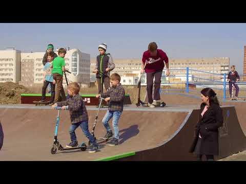 Скейтпарки #FKramps в Киришах и Великом Новгороде
