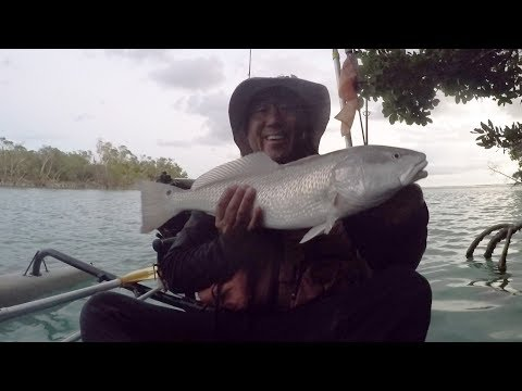 First Key West Redfish - Backcountry Prospecting
