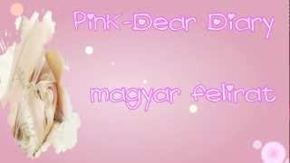 Pink - Dear Diary (magyar felirattal) HD