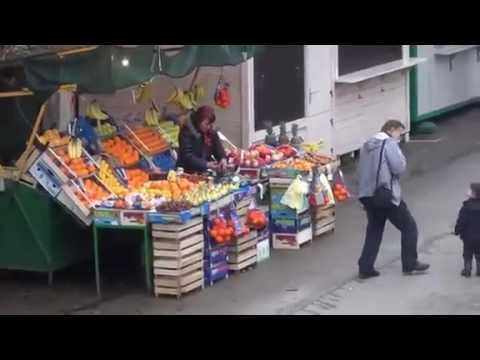 Markets in Pula, Croatia