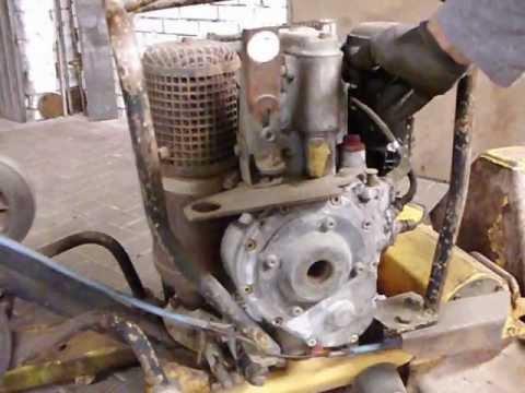 how to run a hatz diesel e75 engine starten einer wacker. Black Bedroom Furniture Sets. Home Design Ideas