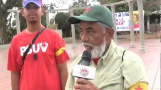 Grito de La Federación en Camunare Rojo III, Testimonios, aporrea tvi, febrero 2013