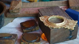 Making of Kannadi mirrors in Aranmula - Kerala