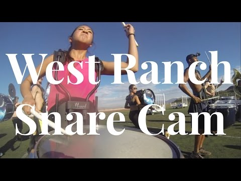 West Ranch High School 2016: DREAMLAND (Snare Cam) | Camie Sotiangco