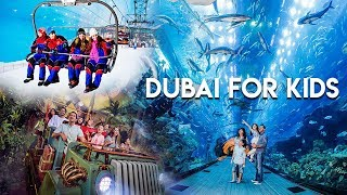 Things to know before visiting Dubai with kids.