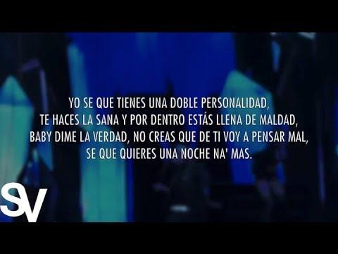 Doble Personalidad (Video Letra Oficial) - Noriel Ft. Yandel