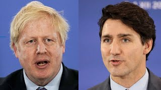U.K.'s Johnson, Canada's Trudeau Grilled Over NATO Video