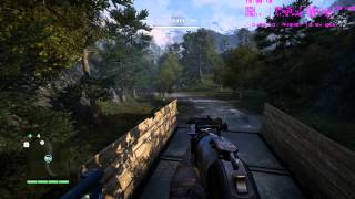 Far Cry 4 Armed Escort Fun | PC Gameplay | r9 280 | Ultra Settings | 1.7.0 Patch