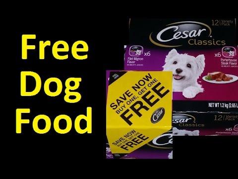 Free Dog Food Cesar Dog Food Coupon Voucher I Got Over 2500