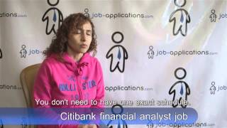Citibank Interview - Financial Analyst